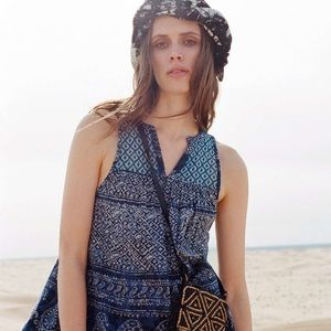 URBAN OUTFITTERS Ecotè Paisley Print Boho Dress